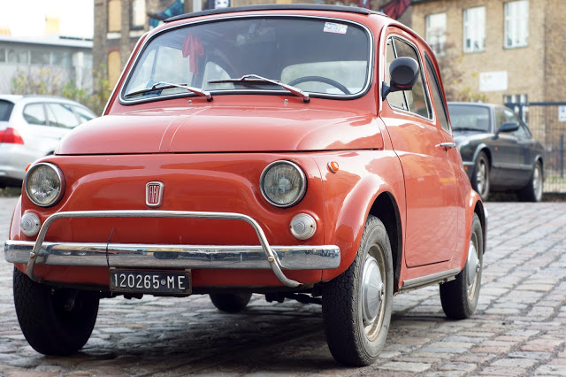 Hello Freckles Berlin City Break Travel Diary Classic Remise Fiat 500