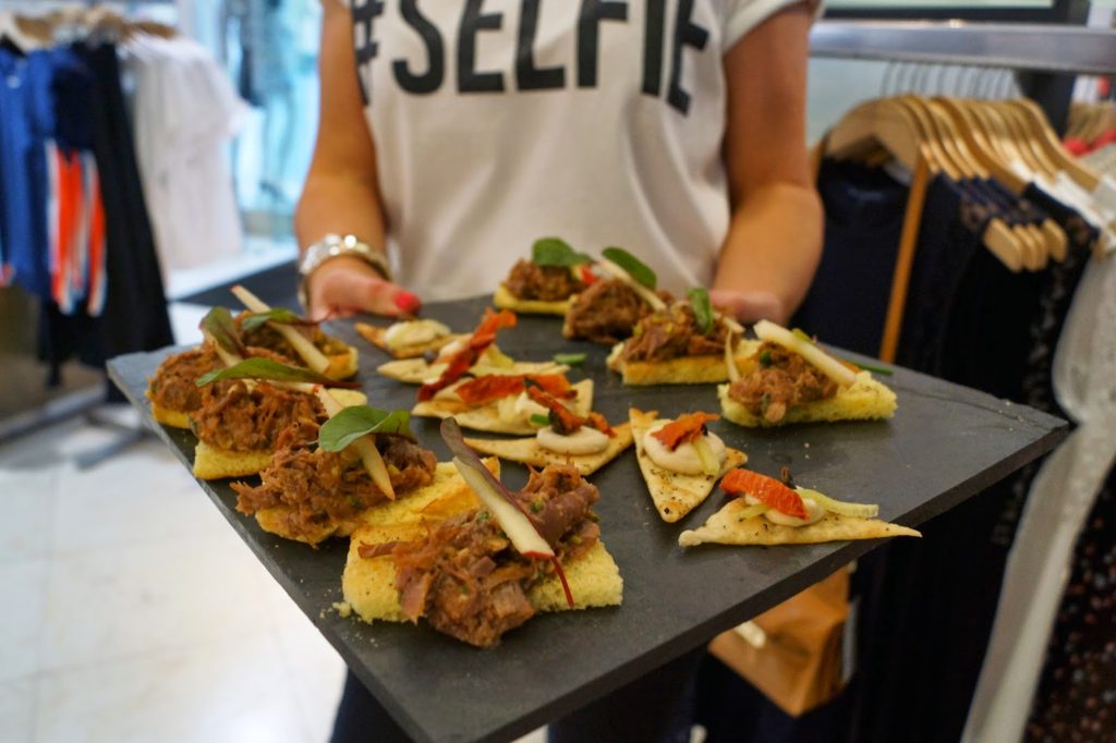 French Connection Cant Help My Selfie Canapes Newcastle