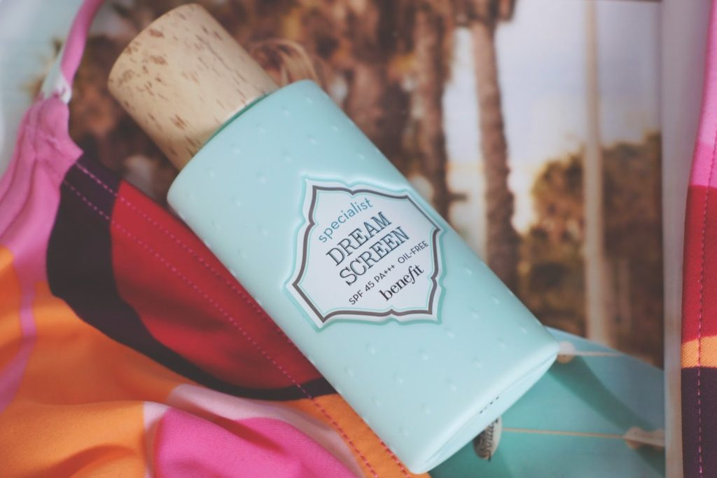 hello freckles benefit dream screen SPF skincare review