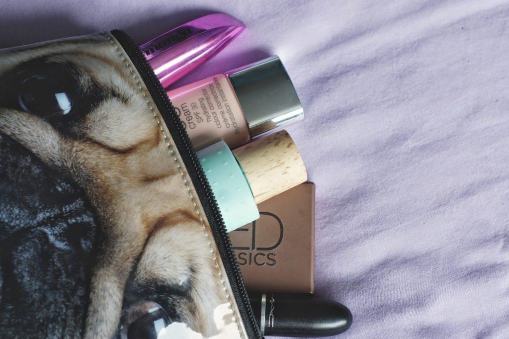 hello freckles make up bag paris edit