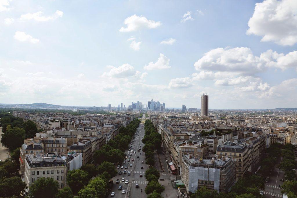 Hello Freckles Paris France Arc De Triomphe View