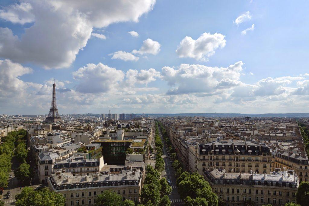 Hello Freckles Paris France Arc De Triomphe View City