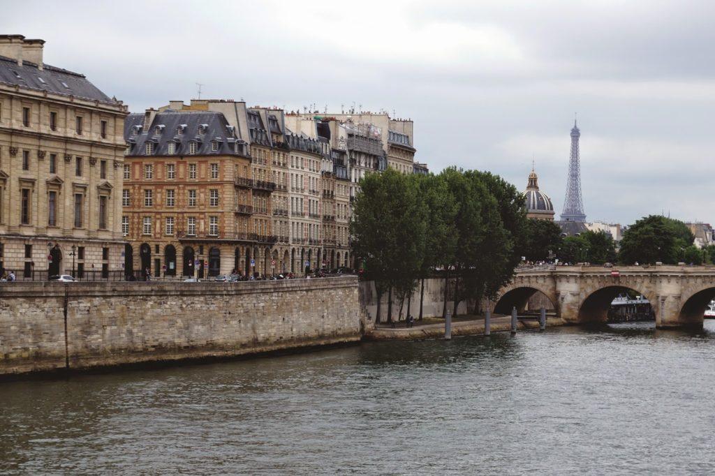 Hello Freckles Paris Seine Eiffel Tower