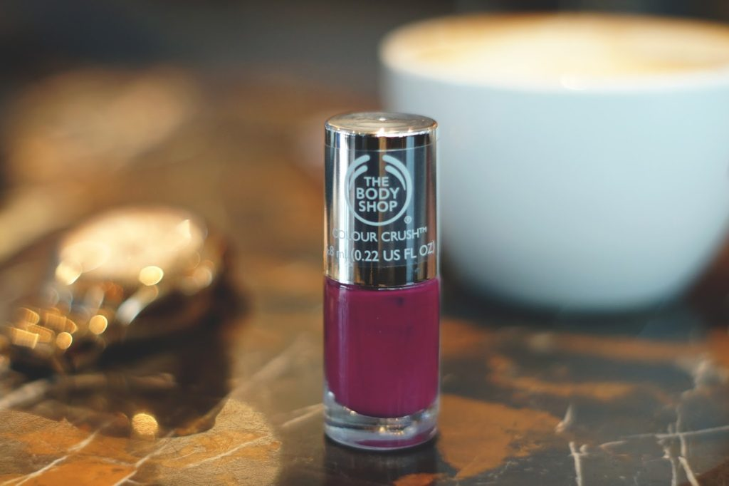 Hello Freckles The Body Shop Colour Crush Nails Review 1