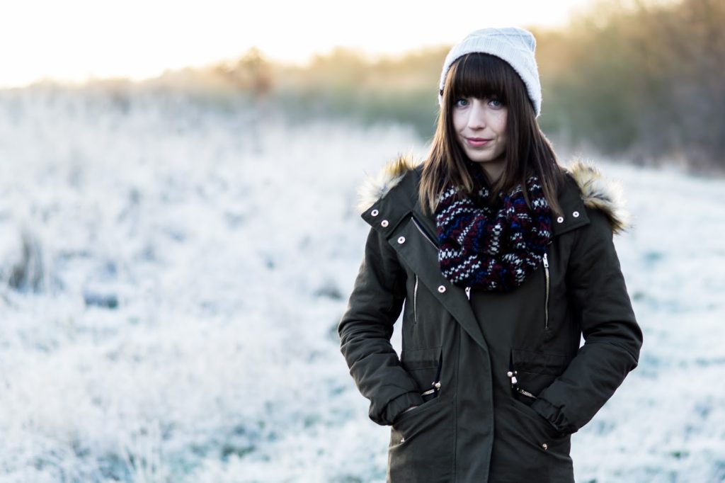 Hello Freckles Frosty Morning Fashion Union Parka OOTD 2