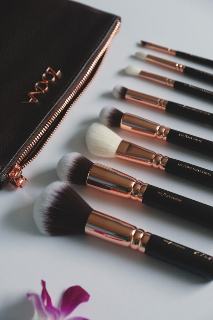 Hello Freckles Zoeva Rose Gold Make Up Brushes
