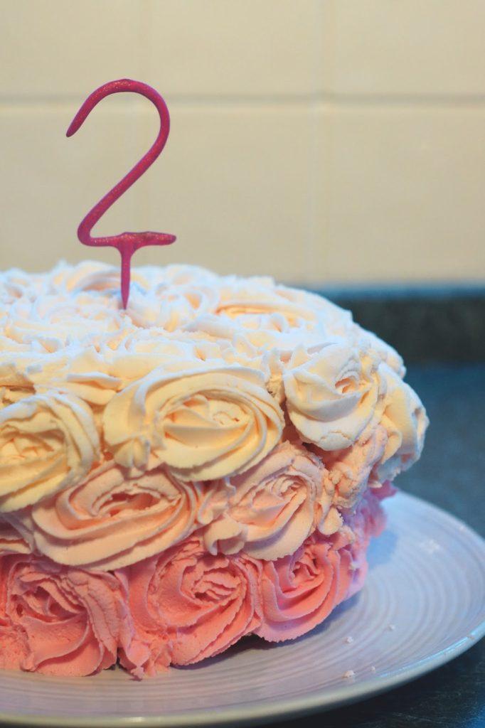 Hello Freckles Blog Birthday Cake