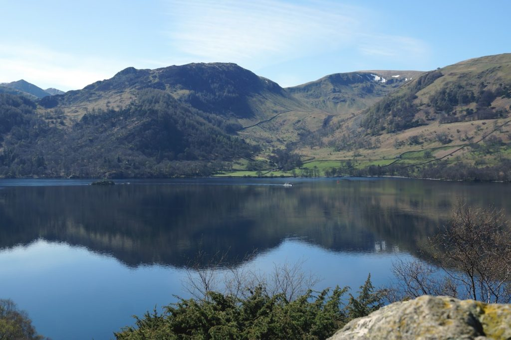 Hello Freckles Sunday Summary Ullswater Lake District