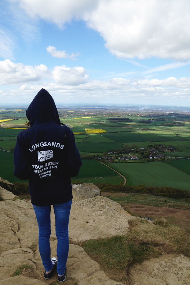 Hello Freckles Sunday Summary North East Roseberry Topping