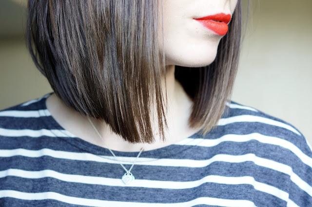 Hello Freckles Taylor Swift Inspired Hair Cut Long Bob Side