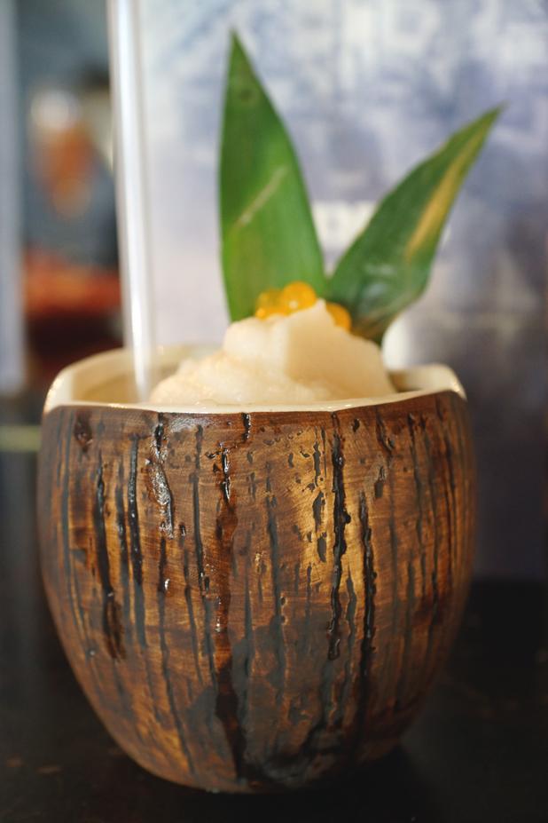 Hello Freckles River Bar Cocktails Coconut Waikiki Cooler Drink