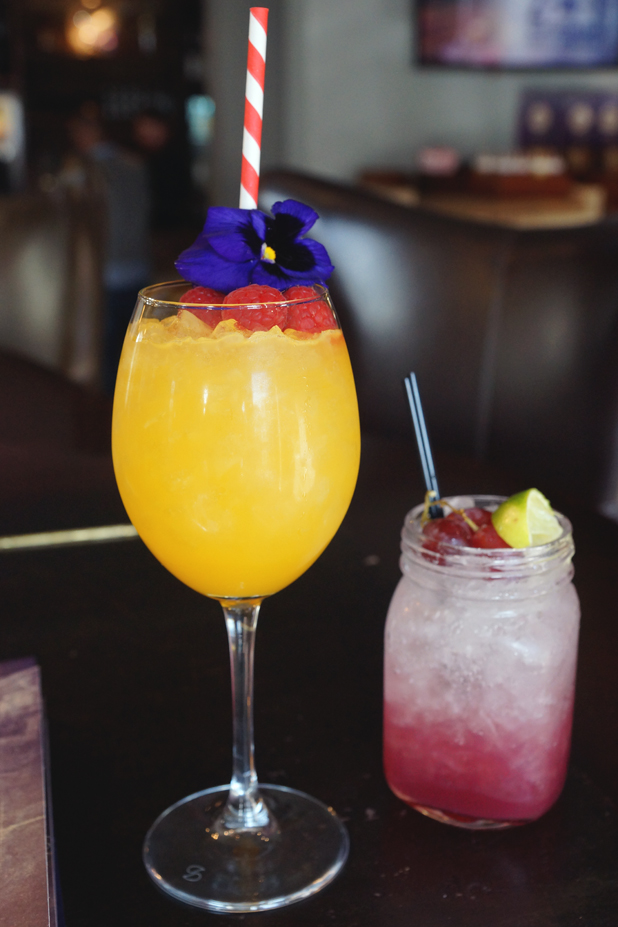 Hello Freckles Gin Rhubarb Cocktails River Bar Washington