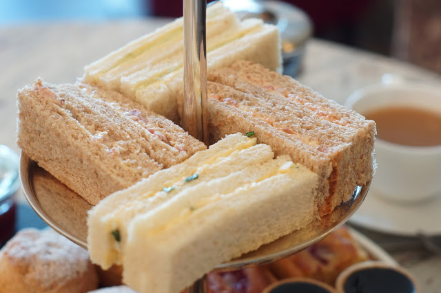 Hello Freckles Afternoon Tea Seaham Hall Sandwiches