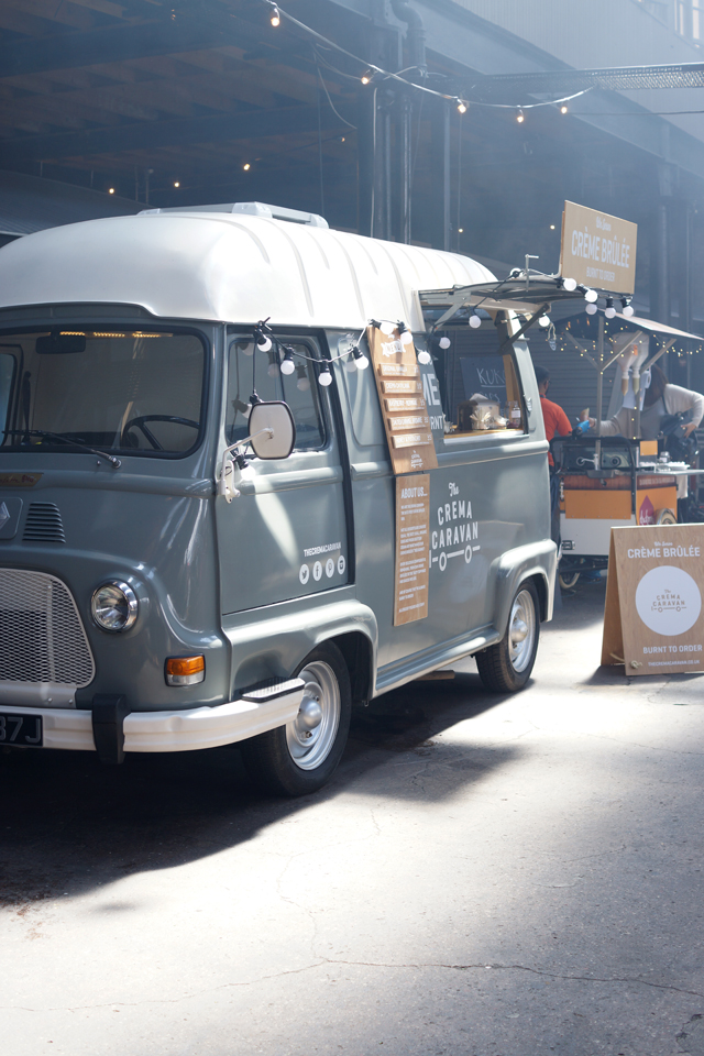 Hello Freckles British Street Food Awards Newcastle Crema Caravan