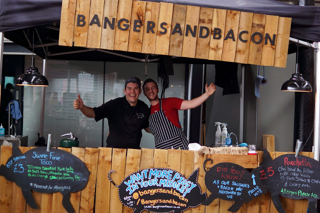 Hello Freckles British Street Food Awards Newcastle Bangers and Bacon