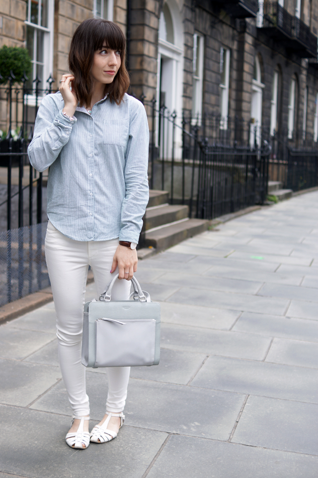Hello Freckles Radley Clerkenwell Style Outfit Fashion Blogger