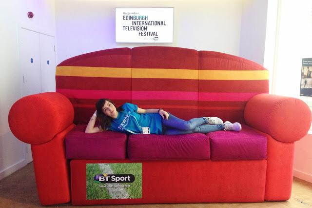 Hello Freckles Edinburgh International Television Festival 2015 BT Lounge