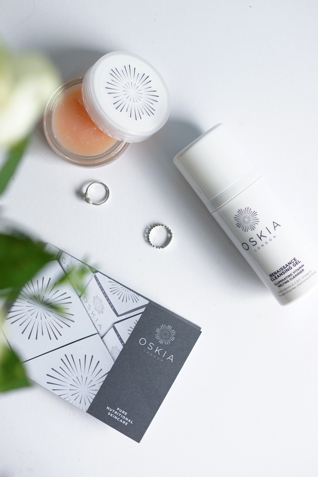 Hello Freckles Oskia Skincare Renaissance Mask and Cleansing Gel