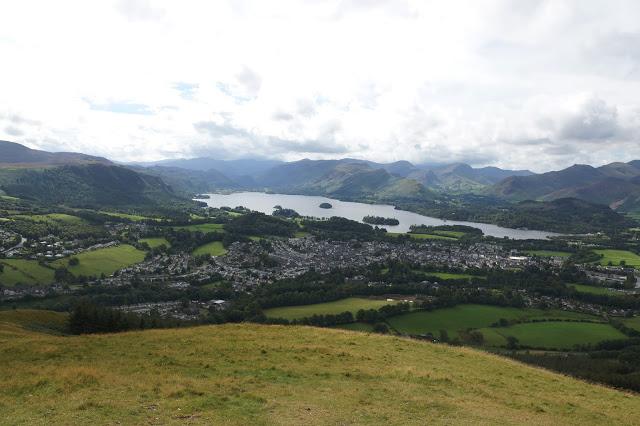 Keswick Derwentwater Hello Freckles Lake District View