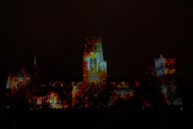 Hello Freckles Durham Lumiere Cathedral The World Machine