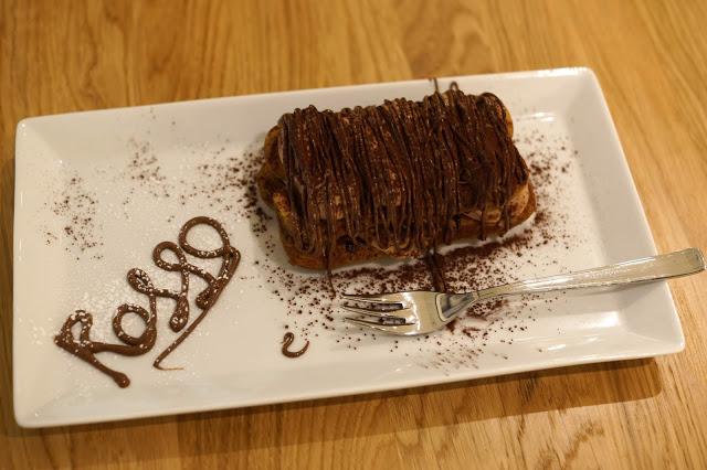 Hello Freckles Rossopomodoro Italian Restaurant Review John Lewis Dessert