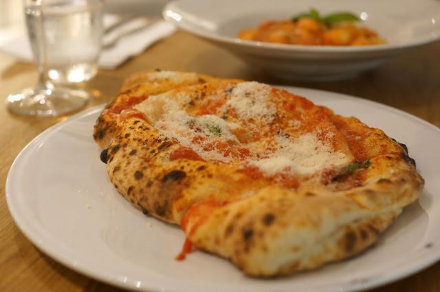 Hello Freckles Rossopomodoro Italian Restaurant Review John Lewis Calzone