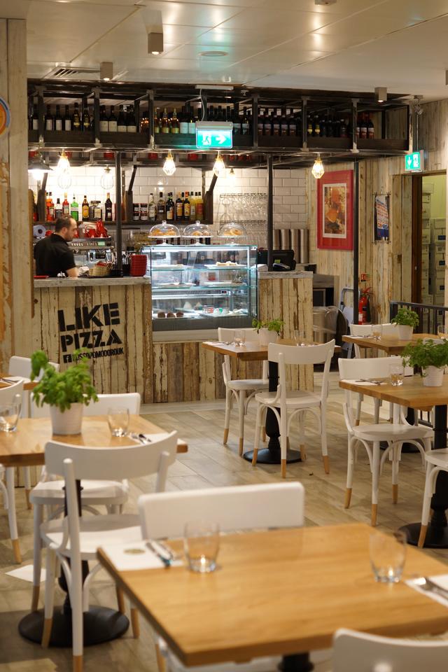 Hello Freckles Rossopomodoro Italian Restaurant Review John Lewis Interior