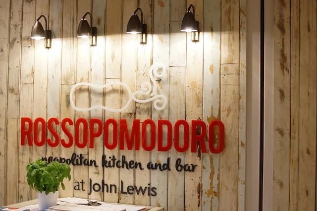 Hello Freckles Rossopomodoro Italian Restaurant Review John Lewis