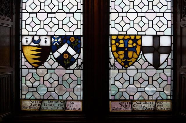 Hello Freckles Edinburgh Castle Window