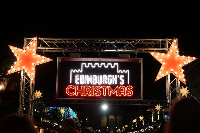 Hello Freckles Edinburgh Christmas Market November