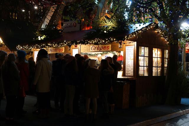 Hello Freckles Edinburgh Christmas Market November Crepes