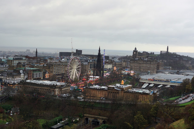 Hello Freckles Edinburgh City View From Castle