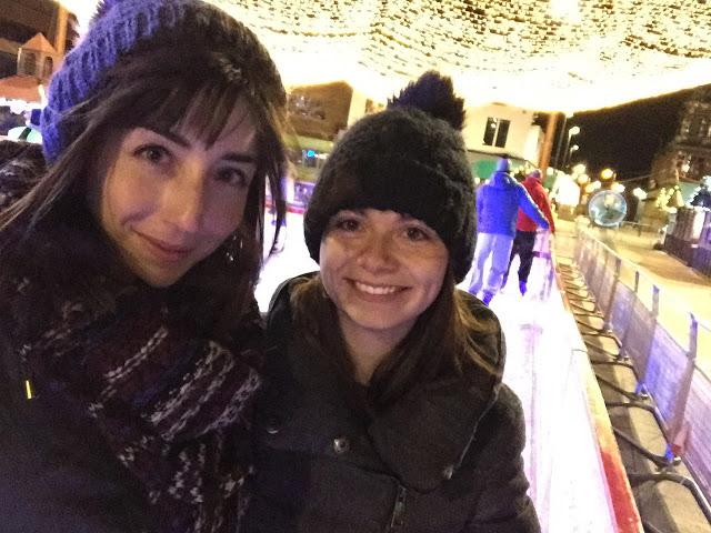 Hello Freckles Ice Skating Frost Village Keel Square Sunderland Christmas Outdoor Rink