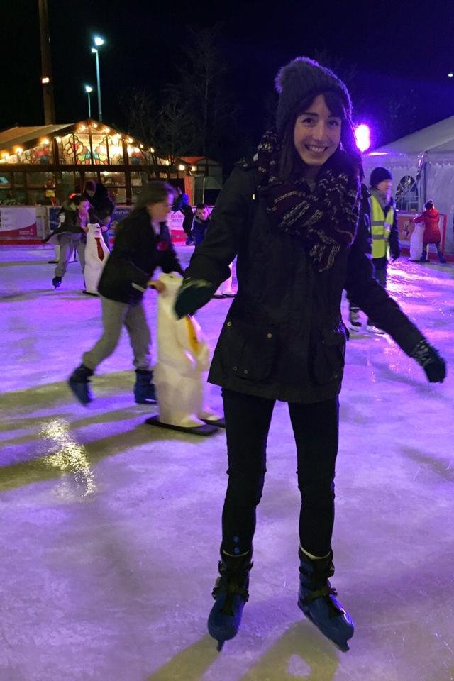 Hello Freckles Ice Skating Frost Village Keel Square Sunderland