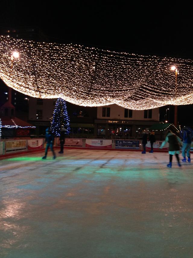Hello Freckles Ice Skating Frost Village Keel Square Sunderland Christmas