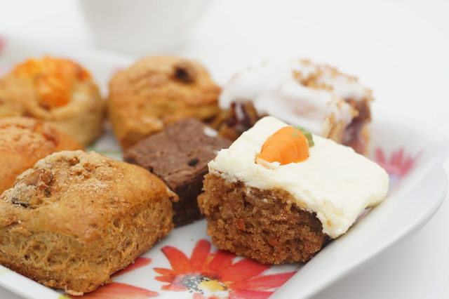 French Oven Grainger Market Afternoon Tea Box Cake Selection