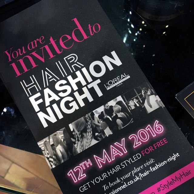 Hello Freckles Loreal Hair Fashion Night Y Salon Newcastle Reverse Braids