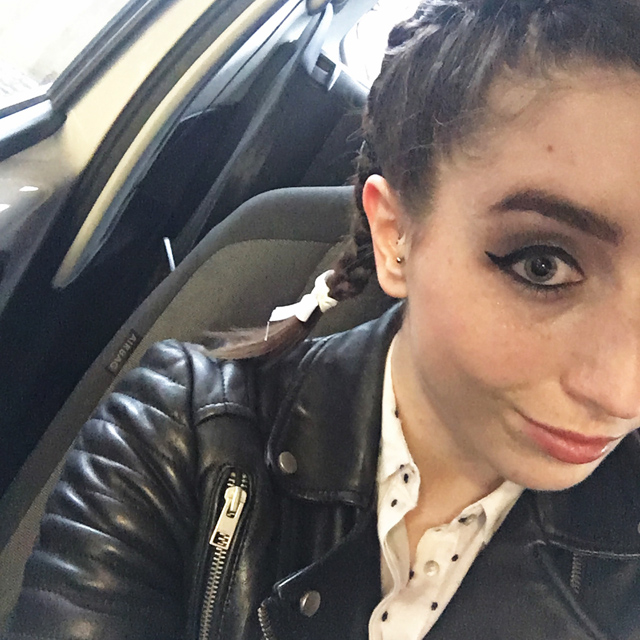 Hello Freckles Loreal Hair Fashion Night Y Salon Newcastle Reverse Braids Charlotte Tilbury Makeup