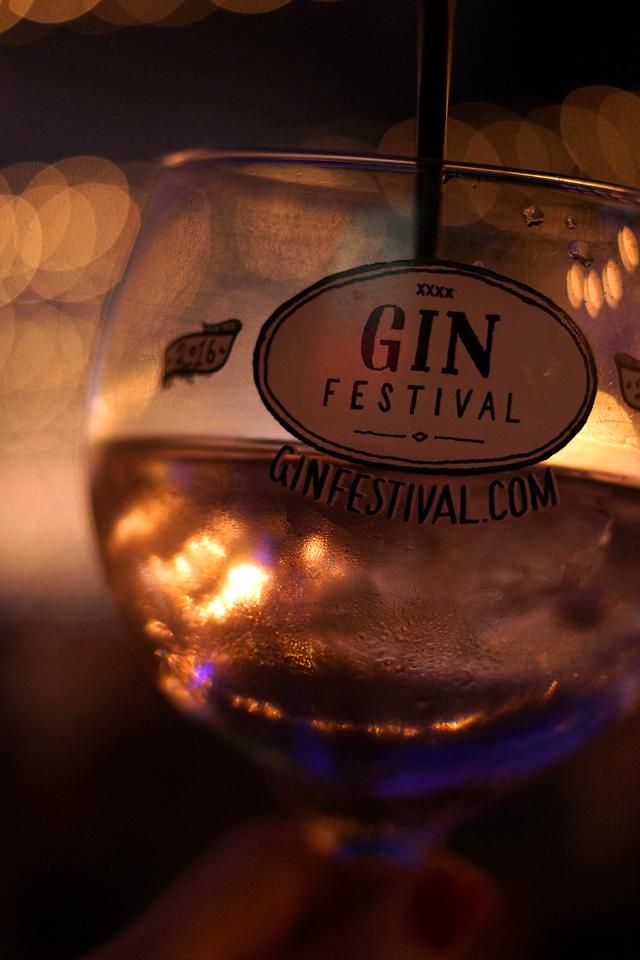 Hello Freckles Gin Festival Newcastle Glass
