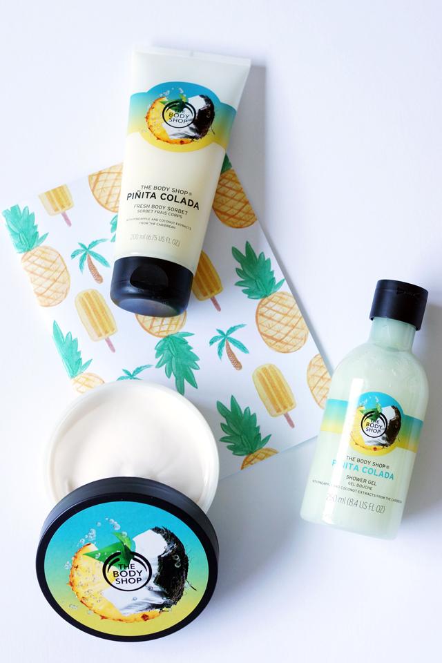 Hello Freckles The Body Shop Summer Pinita Colada