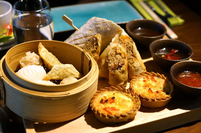 Hello Freckles Asian Afternoon Tea Ramside Spa Fusion Restaurant Review
