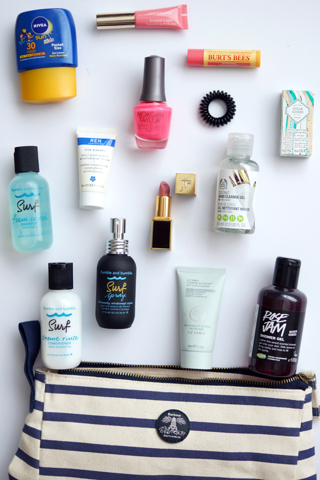 Hello Freckles Holiday Beauty Essentials Hand Luggage Edit