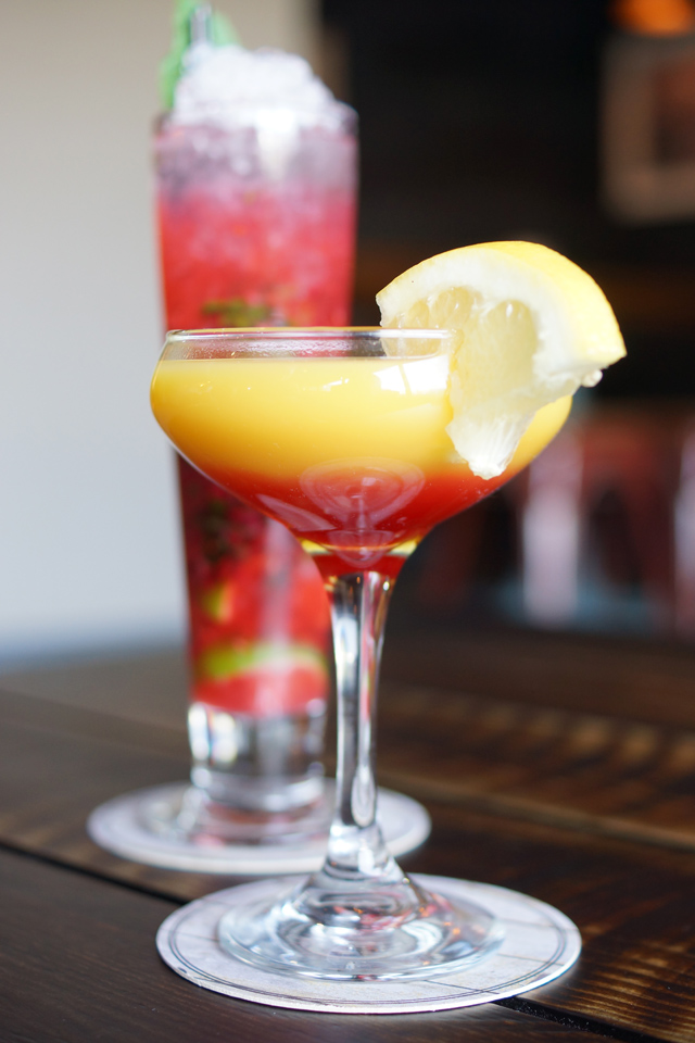 The Jolly Fisherman on the Quay Newcastle Restaurant Review Launch Mocktails