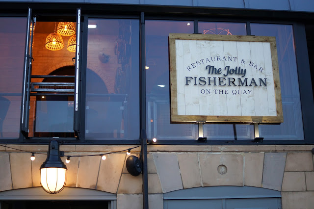 The Jolly Fisherman on the Quay Newcastle Restaurant Review Launch