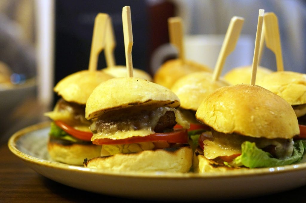 Hello Freckles Afternoon Tea American Sliders Calzone Hilton Garden Inn Sunderland Food Review