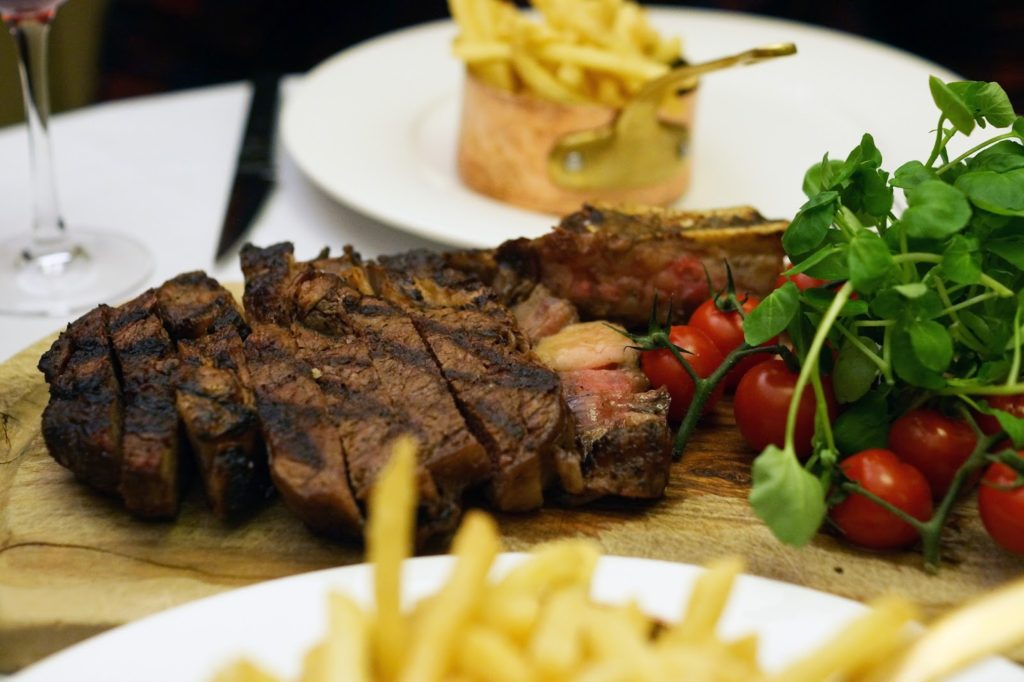 Marco Pierre White Steakhouse Food Review Steak Meal Dinner Hello Freckles Lifestyle