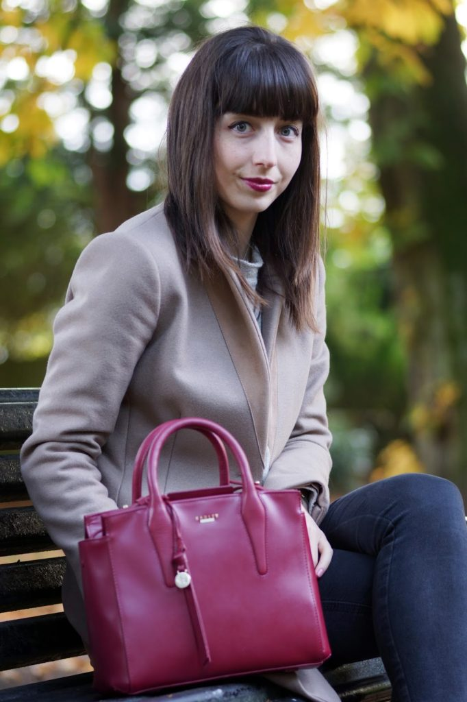Hello Freckles Radley Beaufort Ruby Outfit Personal Style