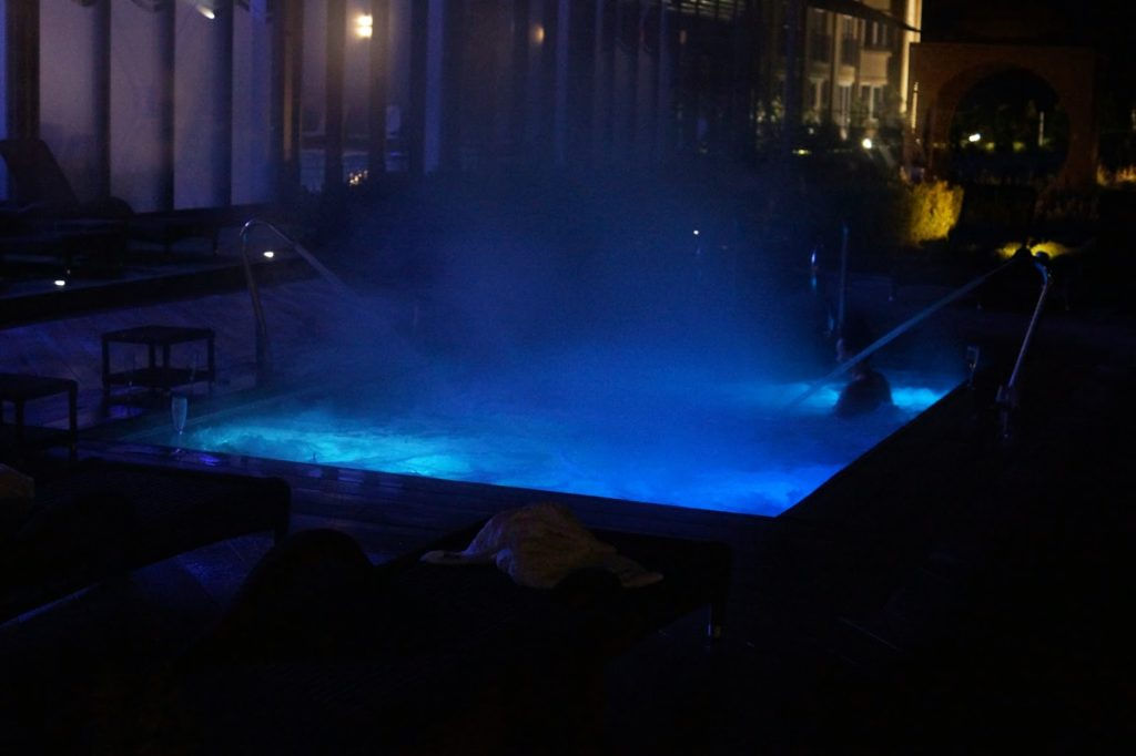 Hello Freckles Ramside Spa Durham Twilight Review Blogger Outdoor Pool