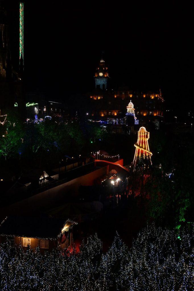 Hello Freckles Edinburgh Christmas Market Travel Review City Break Christmas