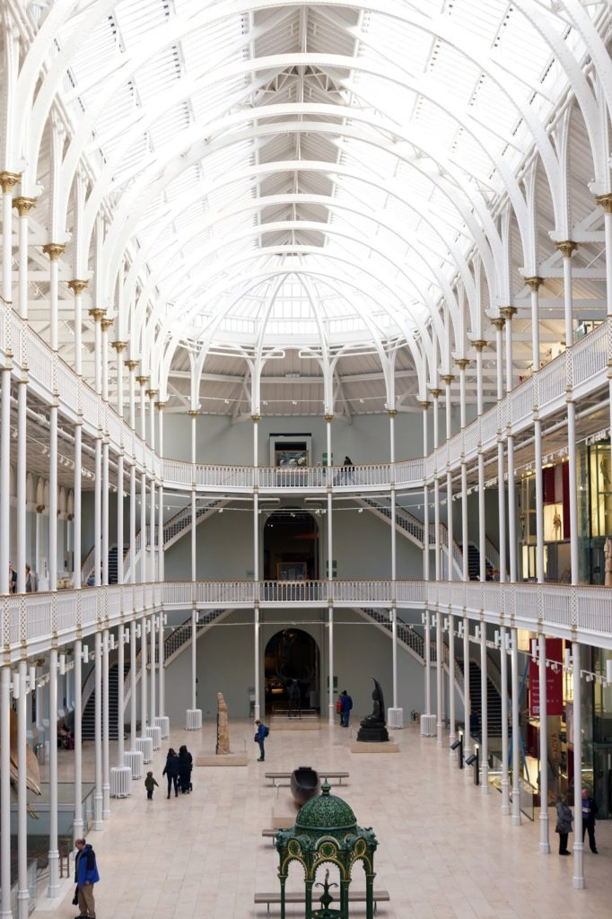 Hello Freckles Edinburgh National Museum of Scotland Travel Review City Break Christmas